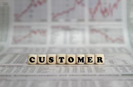 selling service: Customer