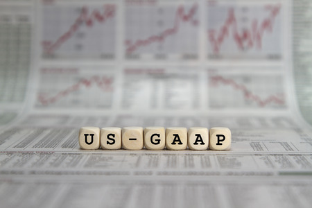 liquidity: US GAAP Stock Photo