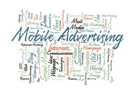 metadata: Mobile Advertising word cloud
