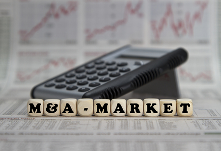 multiples: M&A markets Stock Photo