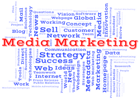 metadata: Media Marketing word cloud