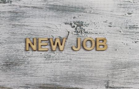 new job: new job Stock Photo