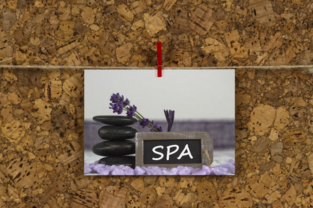tratment: SPA tratment with hot stones and lavender