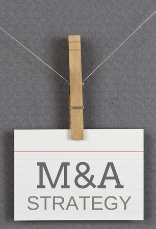 acquisitions: M&A Strategy Stock Photo