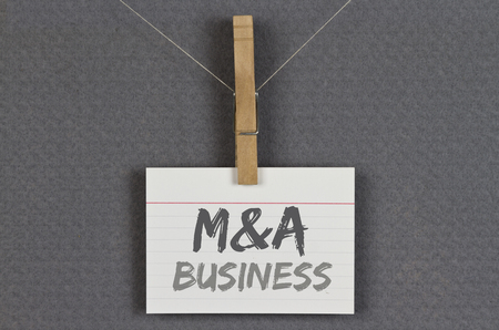 transfers: M&A Business Stock Photo