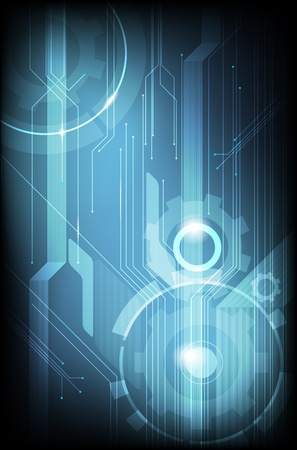 Abstract modern technical background. Vector file. Ilustracja