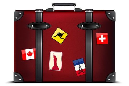 Travel suitcase Stock Photo - 12291975