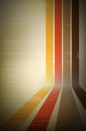 rainbow stripe: Abstract retro stripe background - vector file Illustration