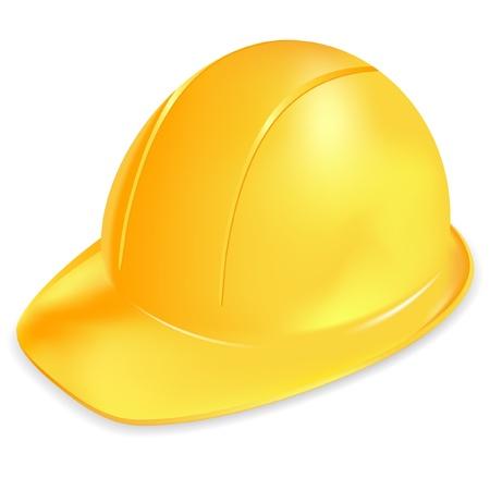 Under construction symbol - yellow helmet