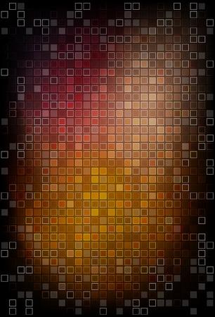 inlay: Dark mosaic background illustration Illustration
