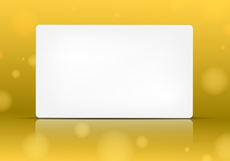 Empty paper card for your text