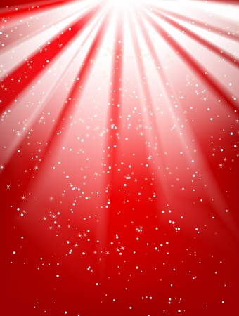 Shiny red vector background with place for your text Stock Vector - 13821036