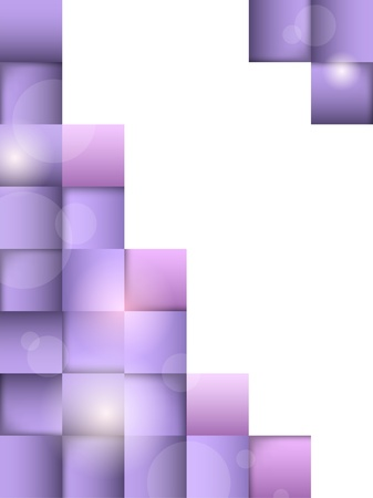 Abstract square background - place for your text Stock Vector - 15076322