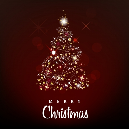 Merry Christmas and Happy New Year background Stock Vector - 16039822