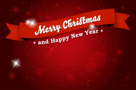 Merry Christmas and Happy New Year background Stock Vector - 16039825