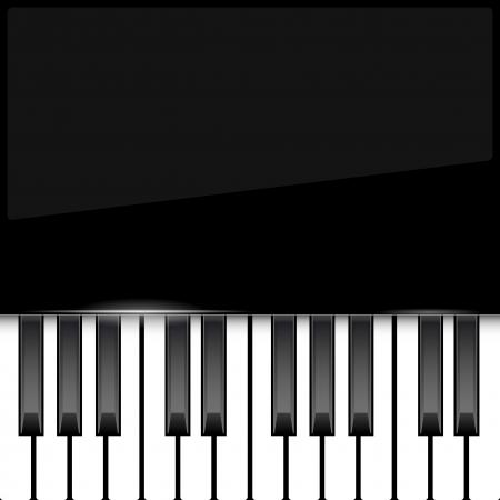 piano: Piano de fondo abstracto con lugar para el texto Vectores