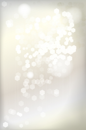 silver background: Abstract shiny silver background - vector file Illustration