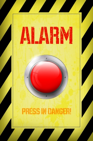 emergency light: Red ALARM button