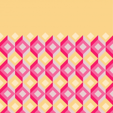 Retro pattern background - place for your text Stock Vector - 23108092