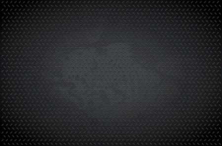 diamond plate: Dark metal background - vector illustration