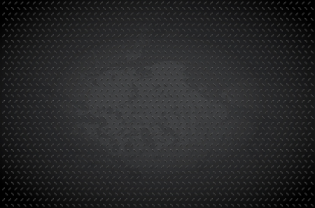 Dark metal background - vector illustration