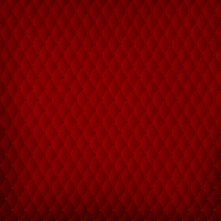 Abstract red background in baroque padding style - vector illustration