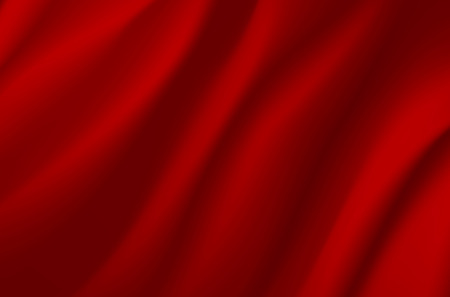 wavy fabric: Background from red wavy fabric