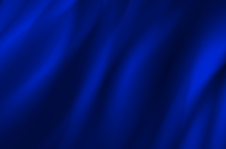 wavy fabric: Background from blue wavy fabric - vector illustration