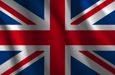 britannia: Wavy United Kingdom flag