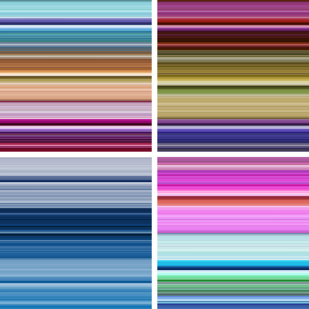 strip structure: Set of abstract striped background in different colors