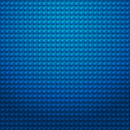 blue background abstract: Blue mosaic background Illustration