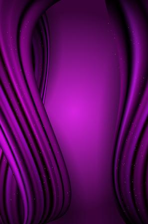 violet: Abstract violet wavy vertical background