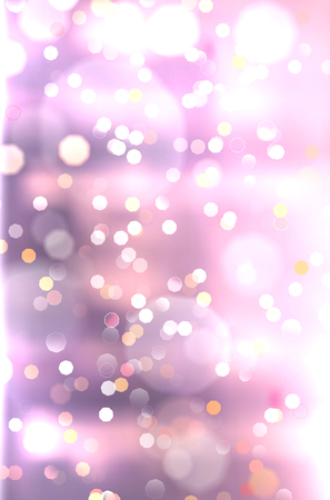 Abstract purple background with shiny blurred bokeh lights - vector illustration