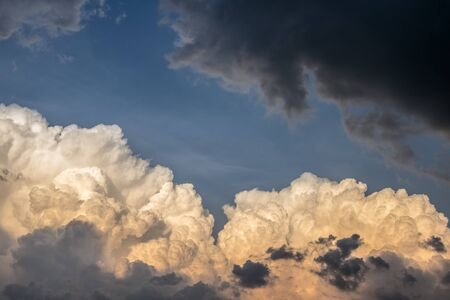 Amazing dramatic sky with storm clouds - natural background Reklamní fotografie