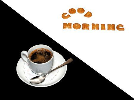 coffe good morning photo