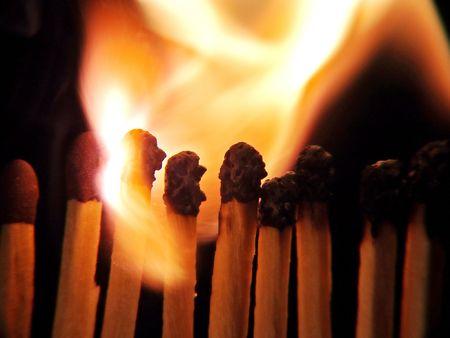 taper: fire