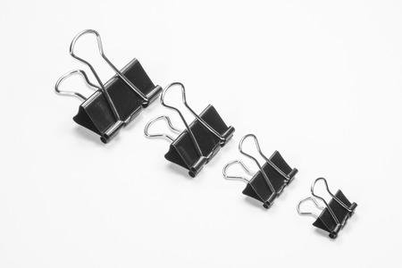 foldback: Foldback Clips on a white background