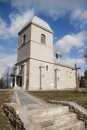 church steeple: Church of the Exaltation of the Cross, Ukraine