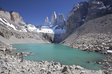 National Park Torres del Paine in southern Chile, Patagonia   photo