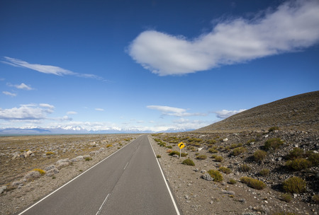 Endless empty country highway, Ruta 40  National Route 40 or RN40  in Argentina, South America   Stock Photo - 27201778