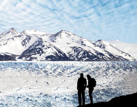 Glacier Grey, Torres del Paine National Park, Chile,  Reklamní fotografie
