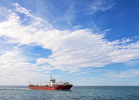 Ferry on the Strait of Magellan
