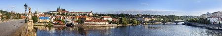 Prague panoramic view, Czech Republic  Reklamní fotografie