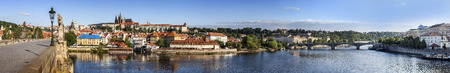 Prague panoramic view, Czech Republic  photo