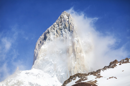fitz roy: Mount Fitz Roy in Patagonia, Argentina
