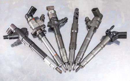 Brandstofpomp injectoren. Stockfoto - 31050344
