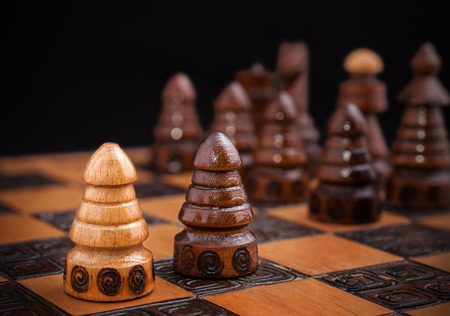 all in one: Chess, one against all concept.