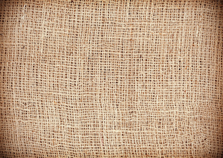 Jute texture, natural linen background. Stock Photo