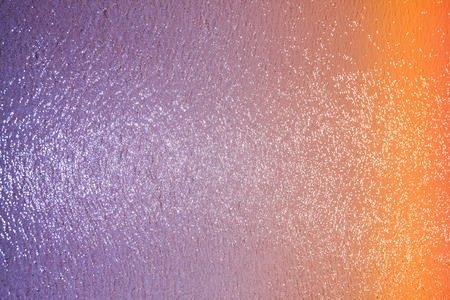 Blurred sea with glitter and bokeh, colorful abstract background. photo