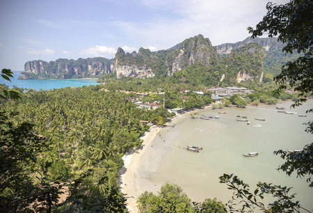 railay: Summer postcard from Thailand Railay beach.